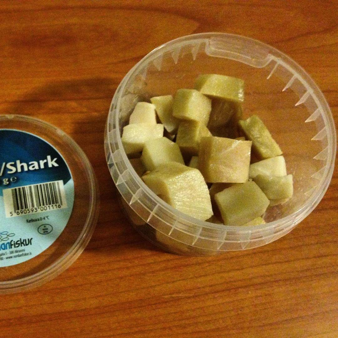 hákarl, tiburón fermentado