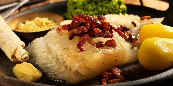 Lutefisk o pescado a la sosa