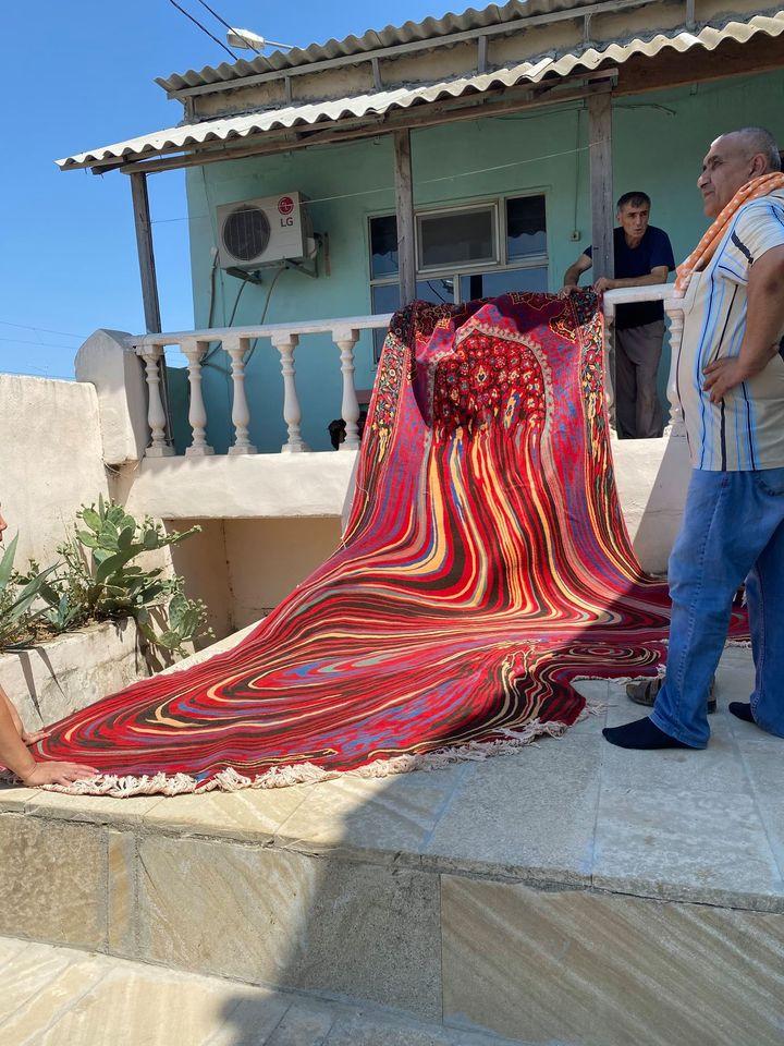 alfombra rara
