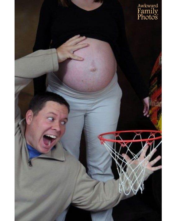 embarazada canasta fotos familiares