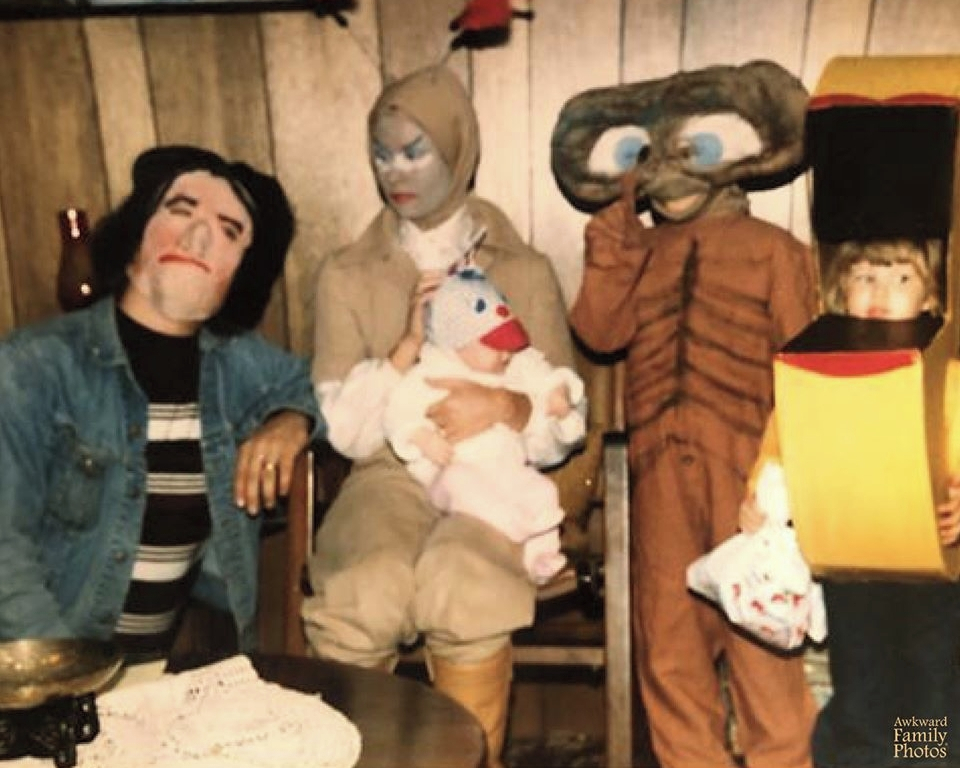 familia halloween fotos familiares