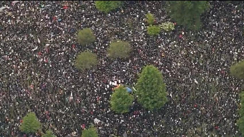 protesta Boston 2020