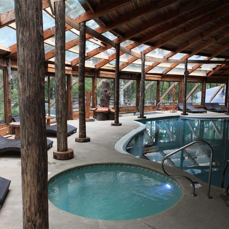 hoteles montaña piscina