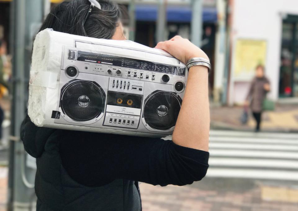paquete papel higiénico radio
