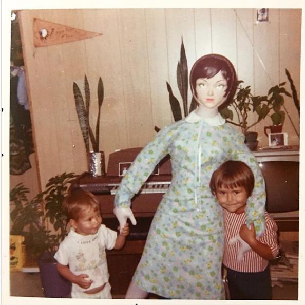 niños muñeca hinchable