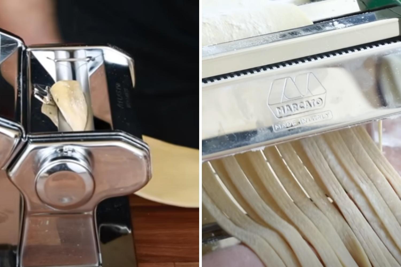 maquina para cortar pasta fresca
