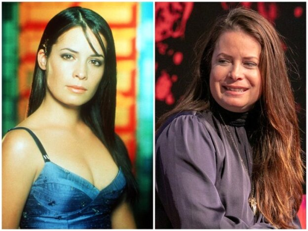Holly Mary Combs antes y después