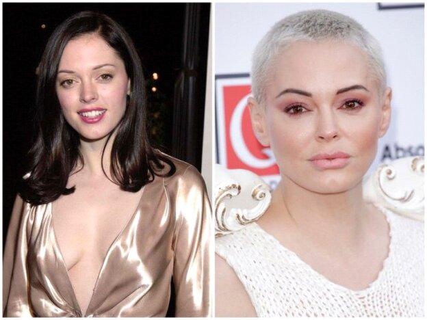 Rose McGowan antes y después