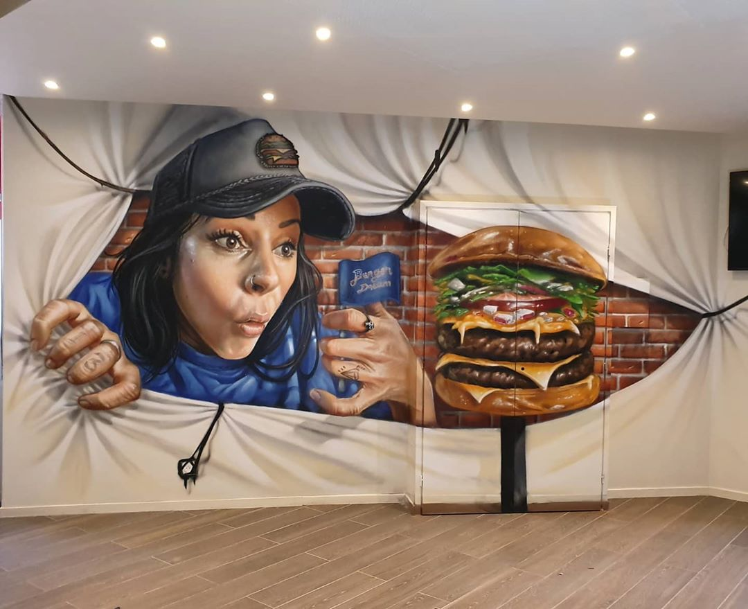 grafitti hamburguesa