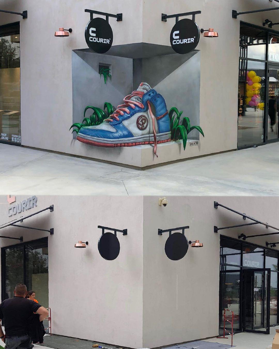 graffiti zapatilla