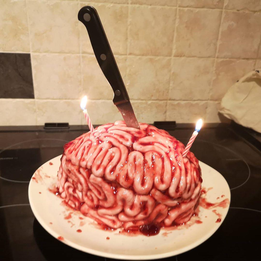 Tarta de cerebro