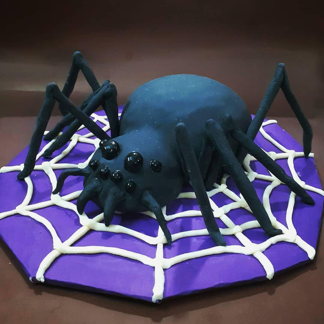Tarta forma araña