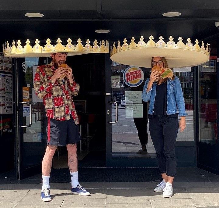 burger king distancia social