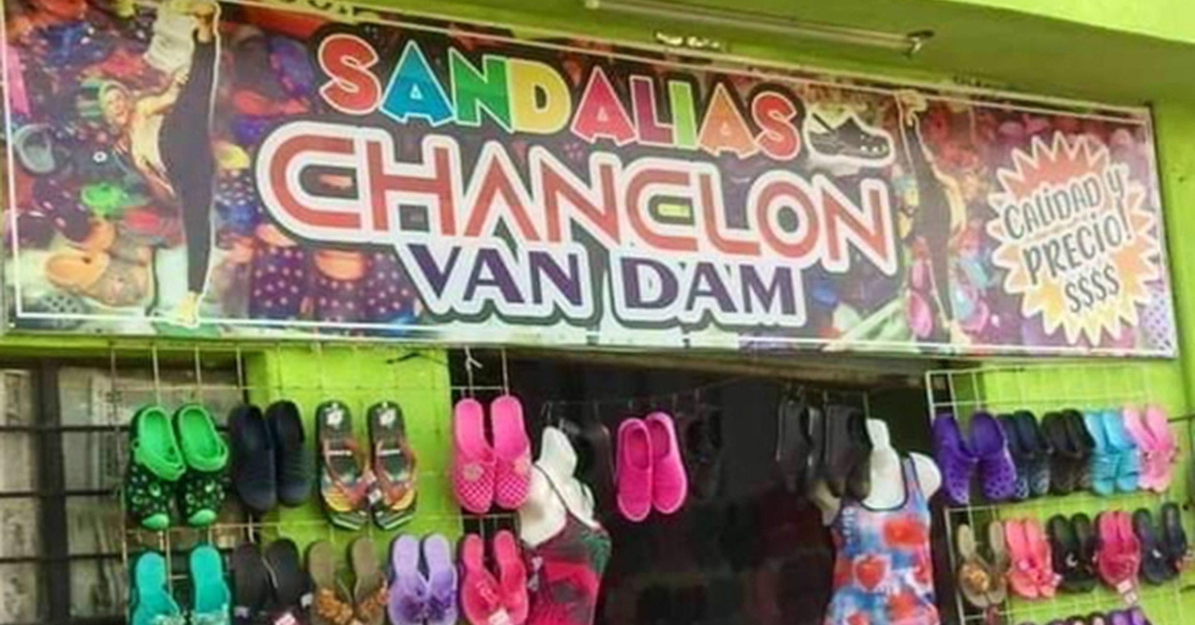 chanclon van dam