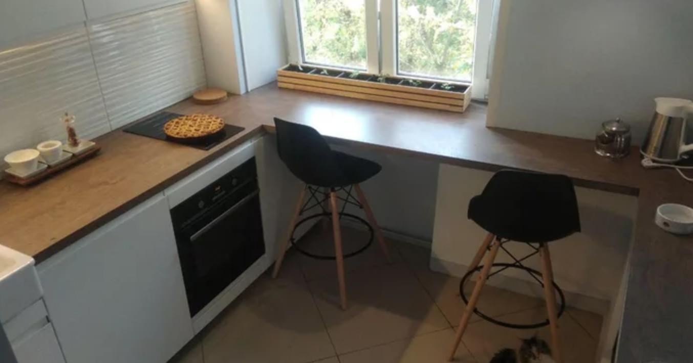 cocina desde arriba