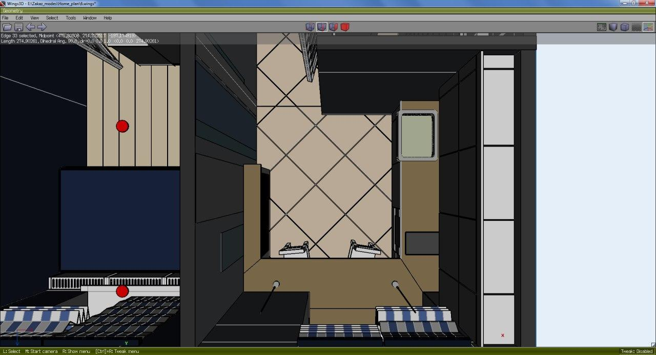 diseño cocina 3D