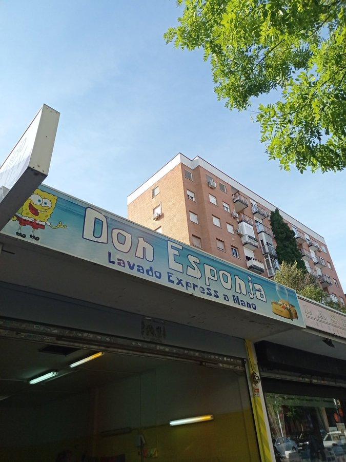 Don Esponja lavado coches