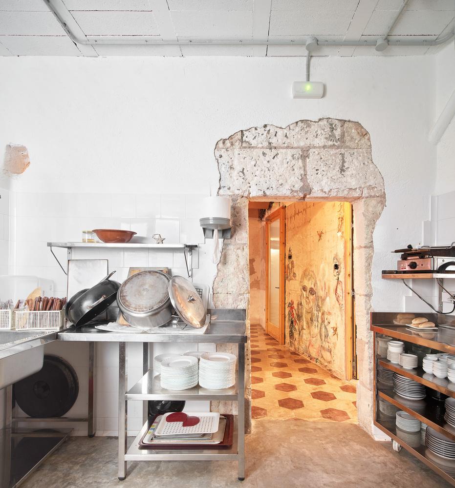 cocina antigua preservación
