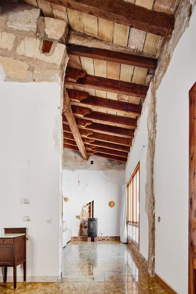 techos antiguos de madera