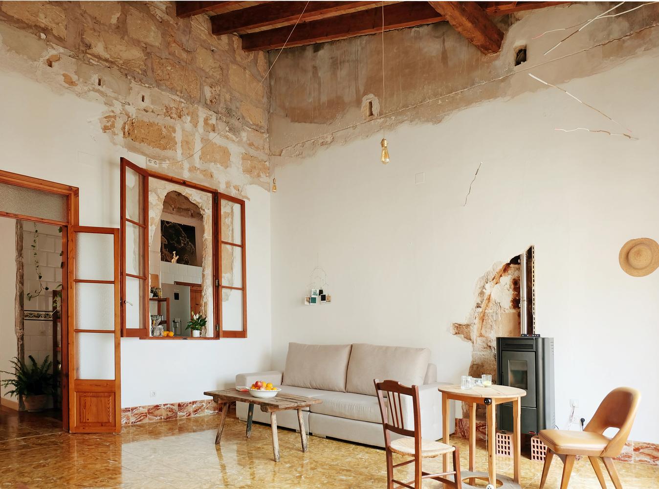 integración de elementos arquitectónicos antiguos