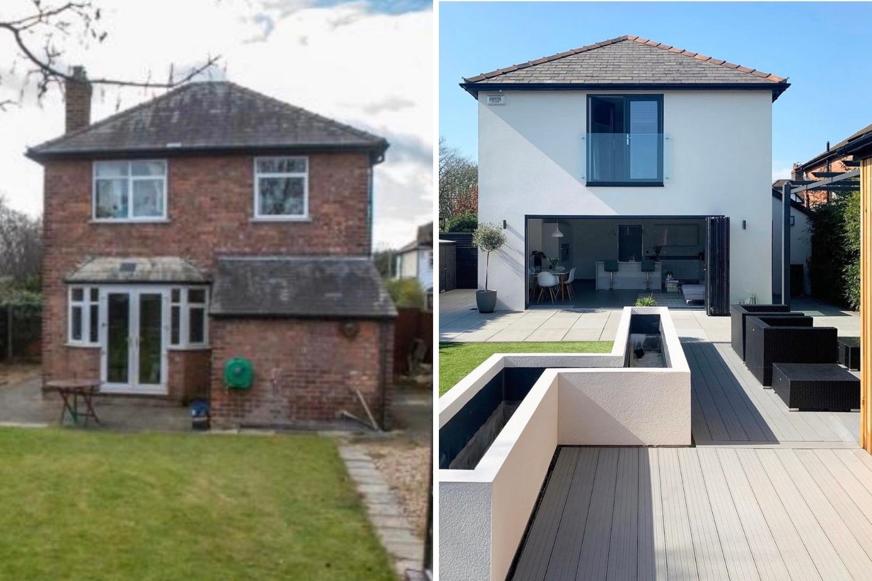 casa reforma antes y después