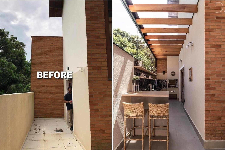 reforma cocina antes y después