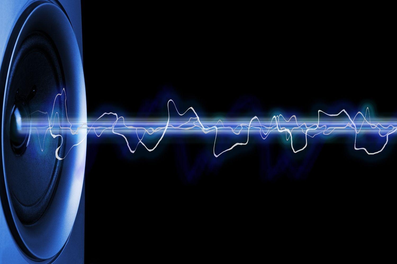 sonido de altavoz