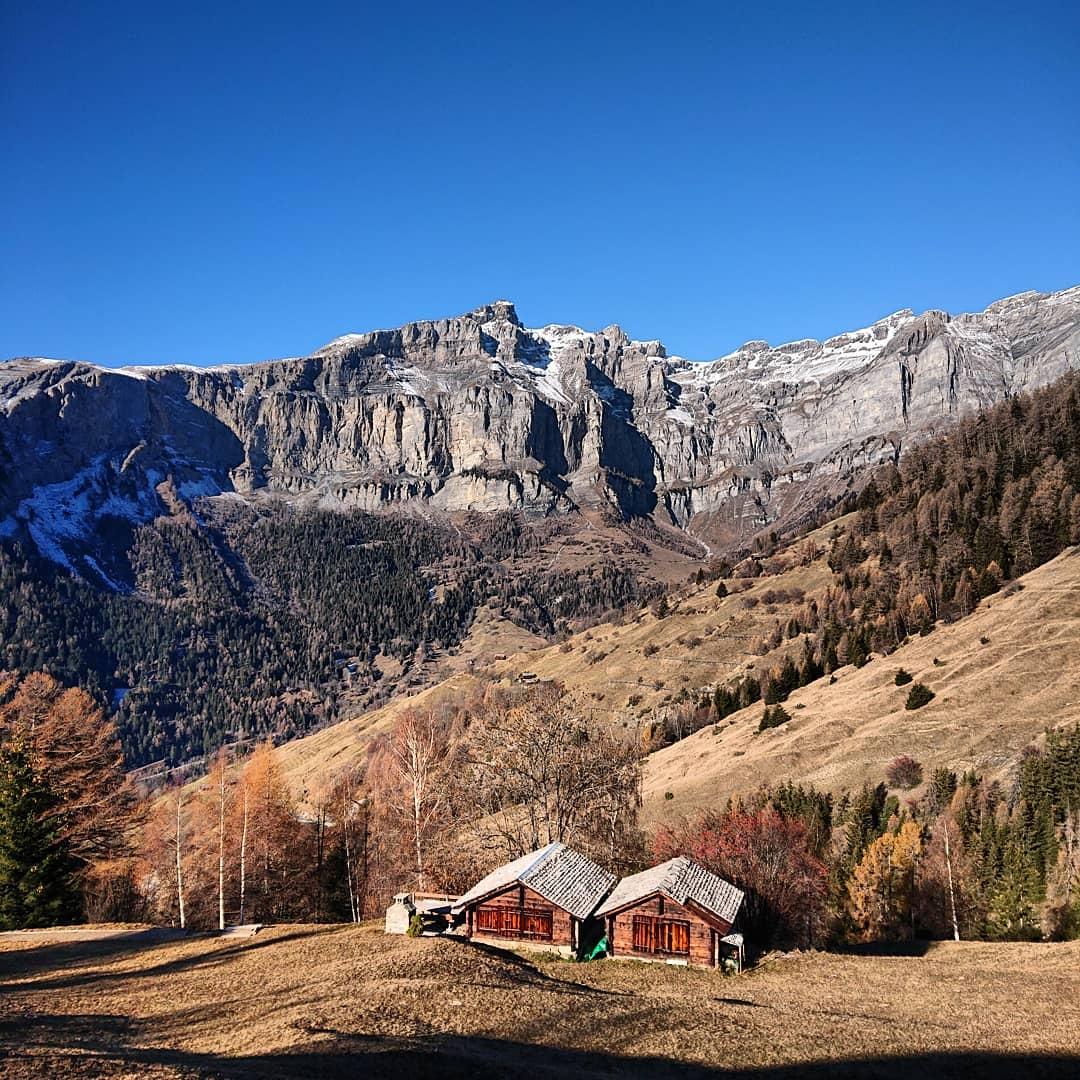 casita en los Alpes