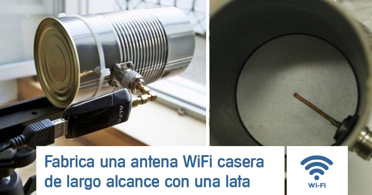 antena wifi casera lata