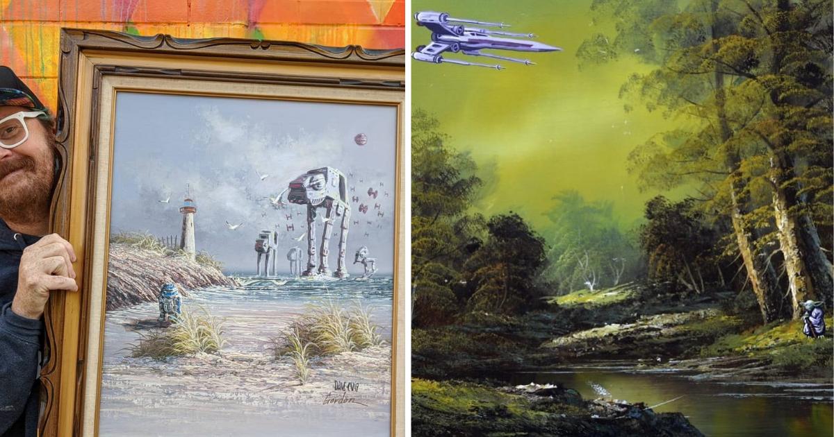 artista-cuadros-star-wars