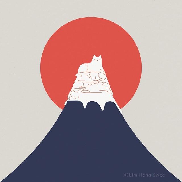 ilustraciones de gatos