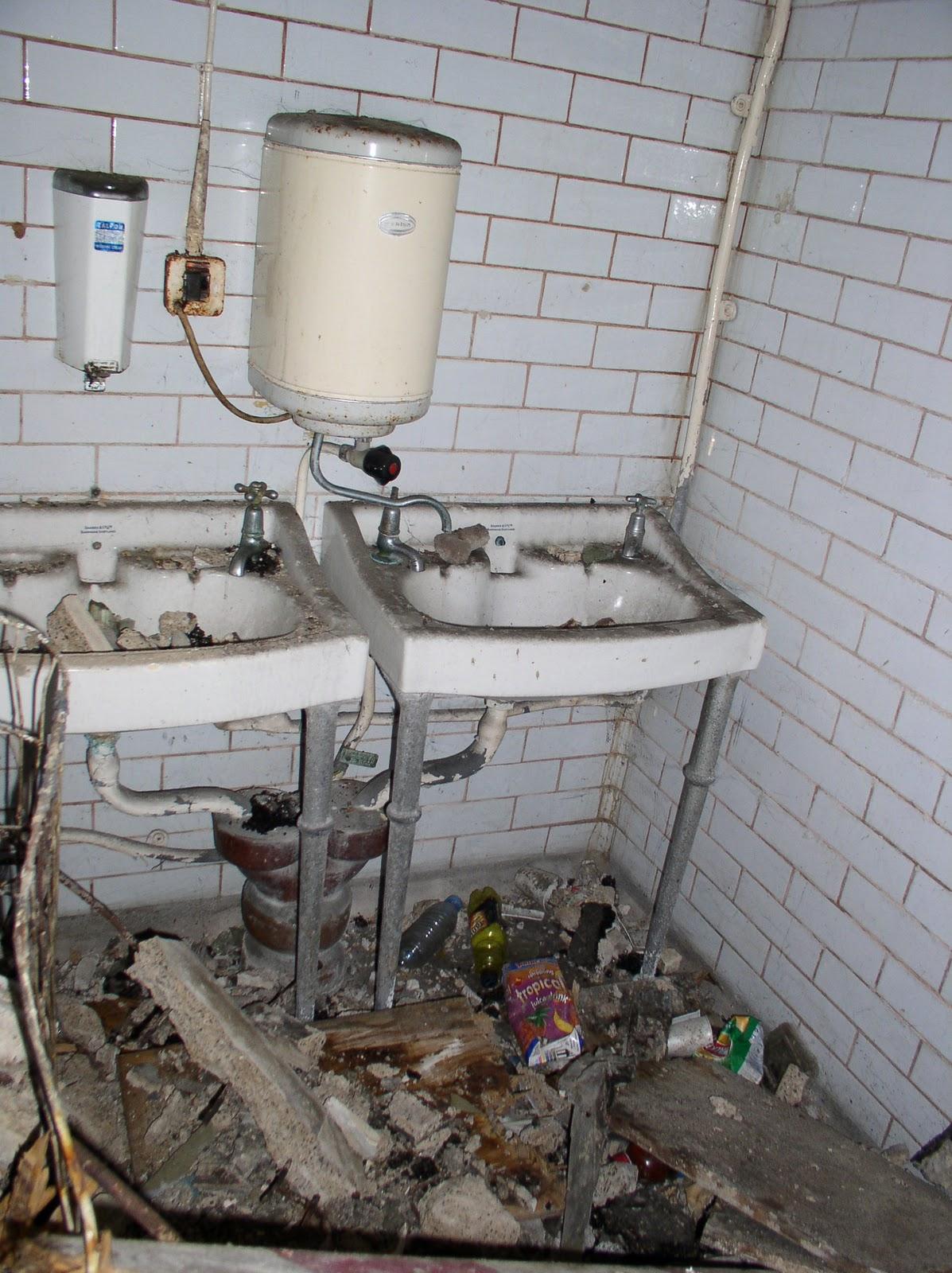 lavabo roto