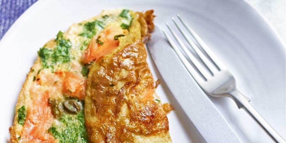 tortilla de salmón sirtfood