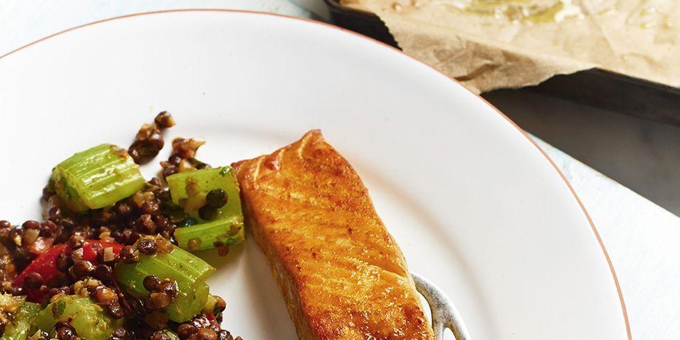 salmón dieta sirtfood