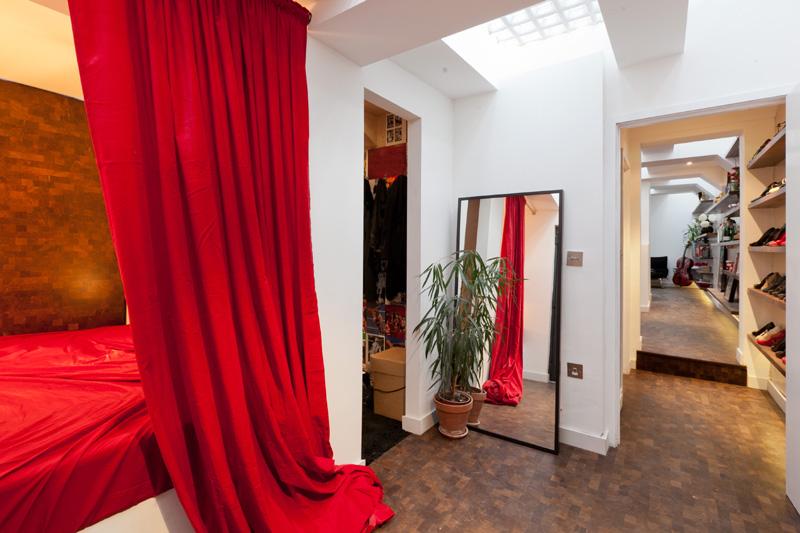 habitacion con vestidor