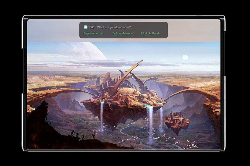 pantalla OLED Oppo X