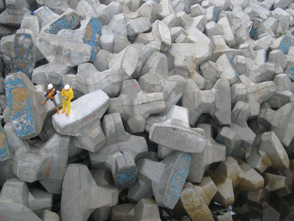piedras rompeolas