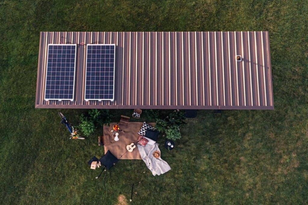 placas solares techo