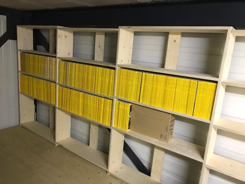 revistas ordenadas