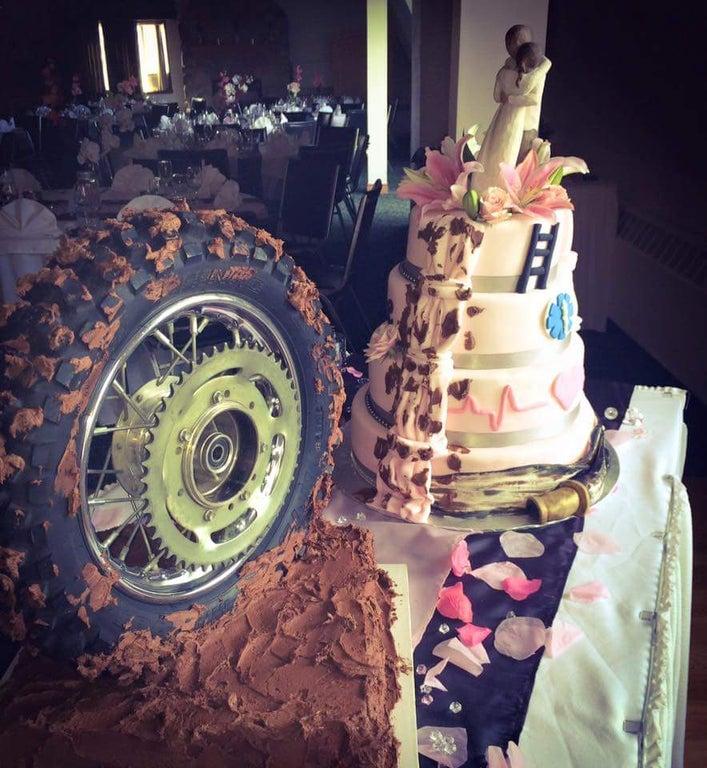 tarta boda rueda