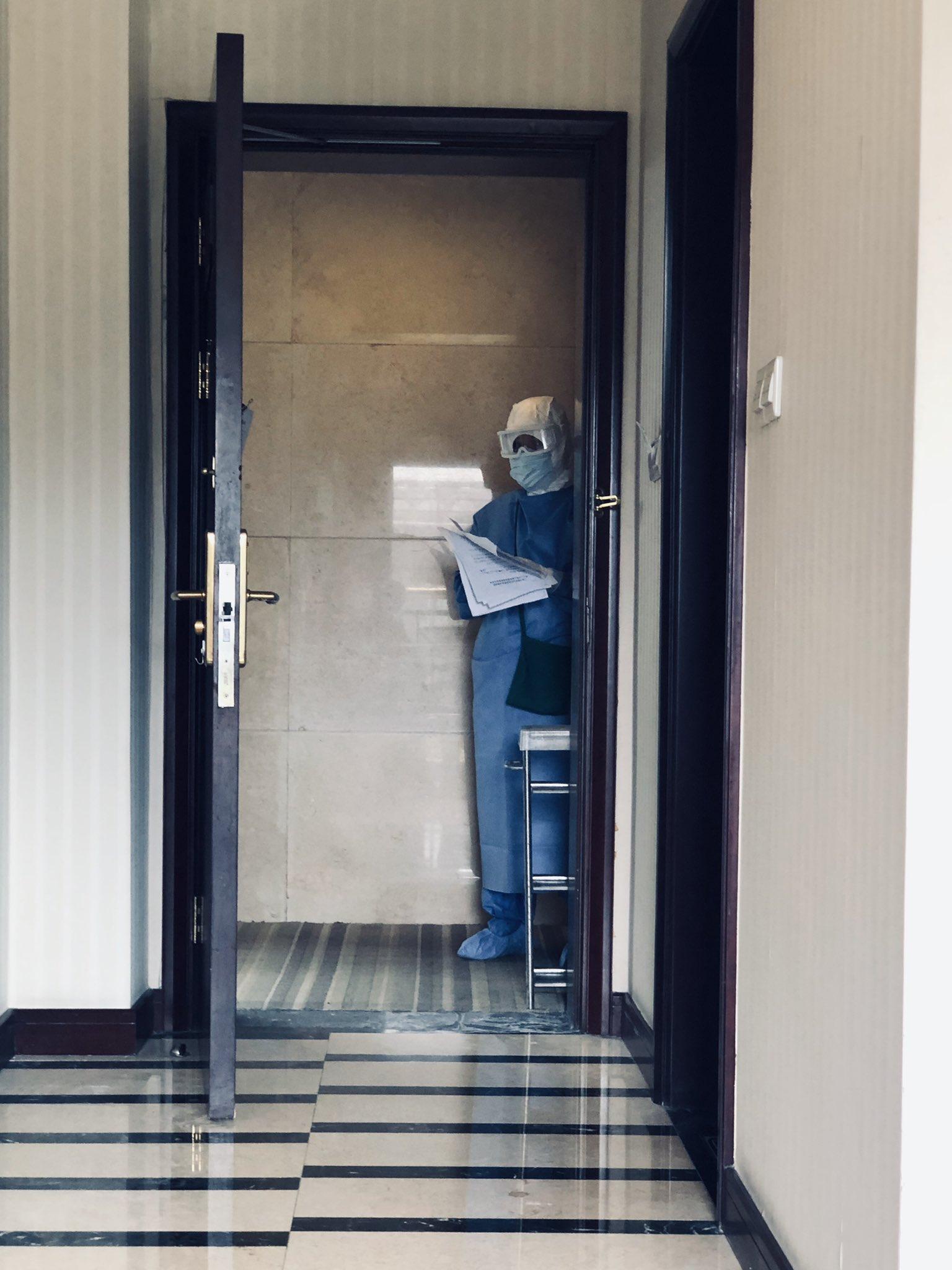 vigilancia en el hotel