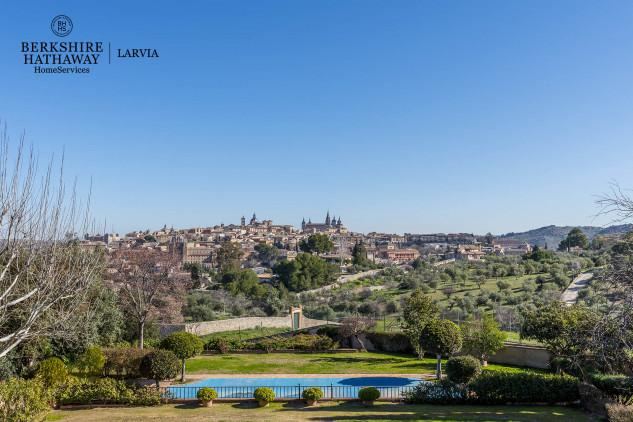 vistas del Toledo desde la casa de Cospedal