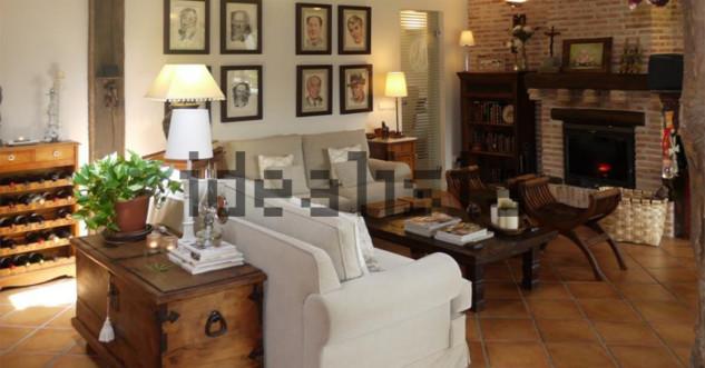 salón casa de Pablo Iglesias