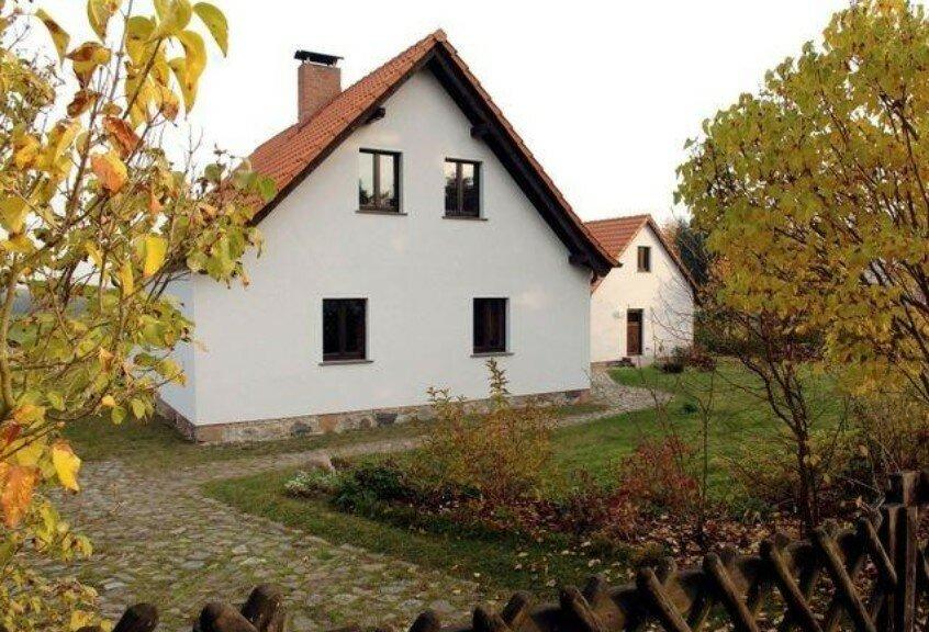 casa de Merkel en Templine