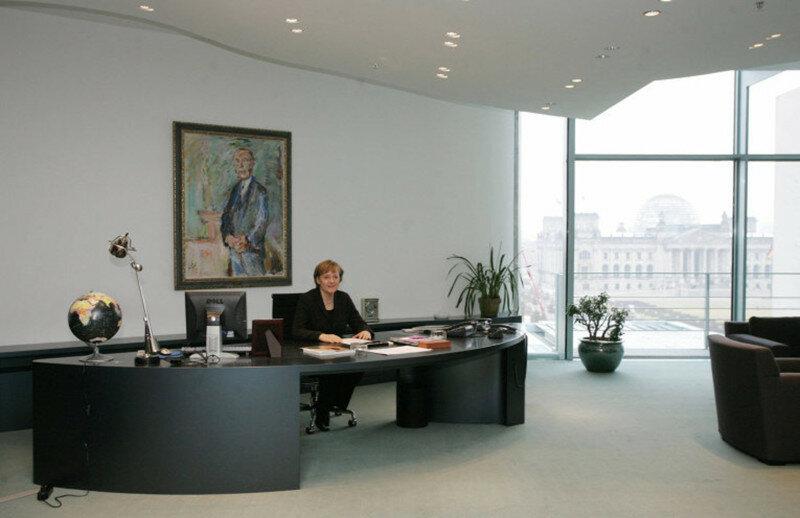 oficina de Angela Merkel