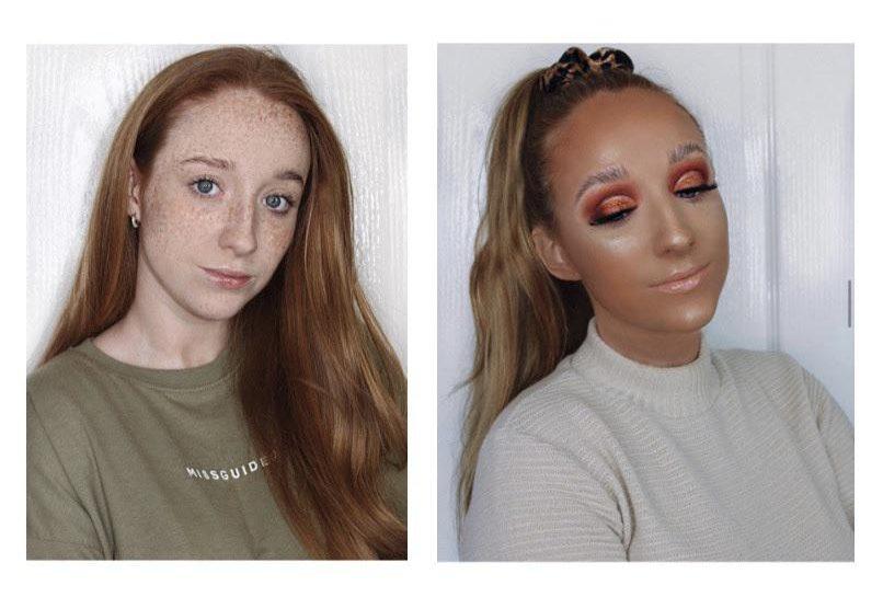 diferencia tono piel