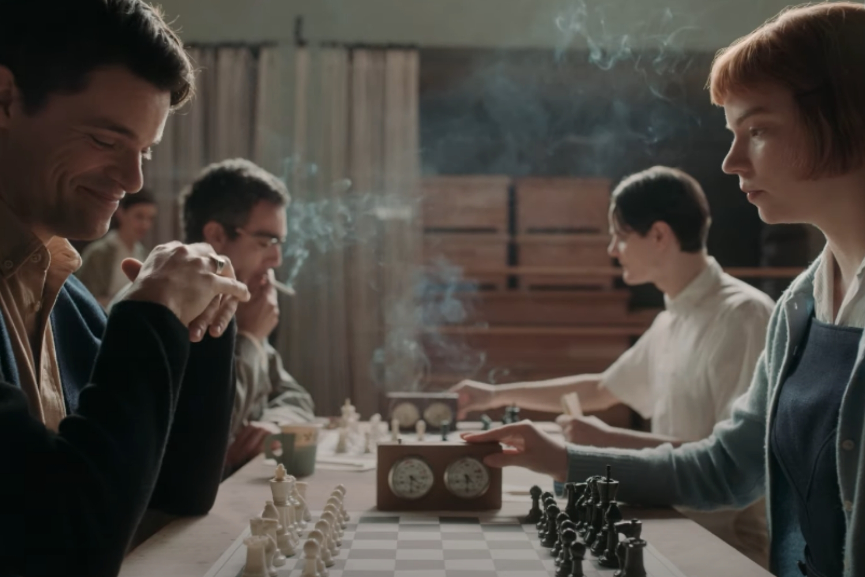 partida de ajedrez Gambito de Dama
