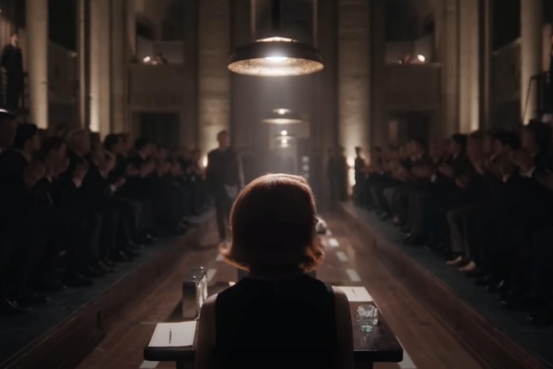 escena final de Gambito de Dama