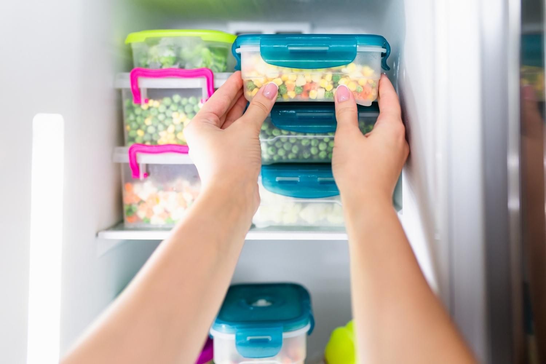 guardar comida en envases