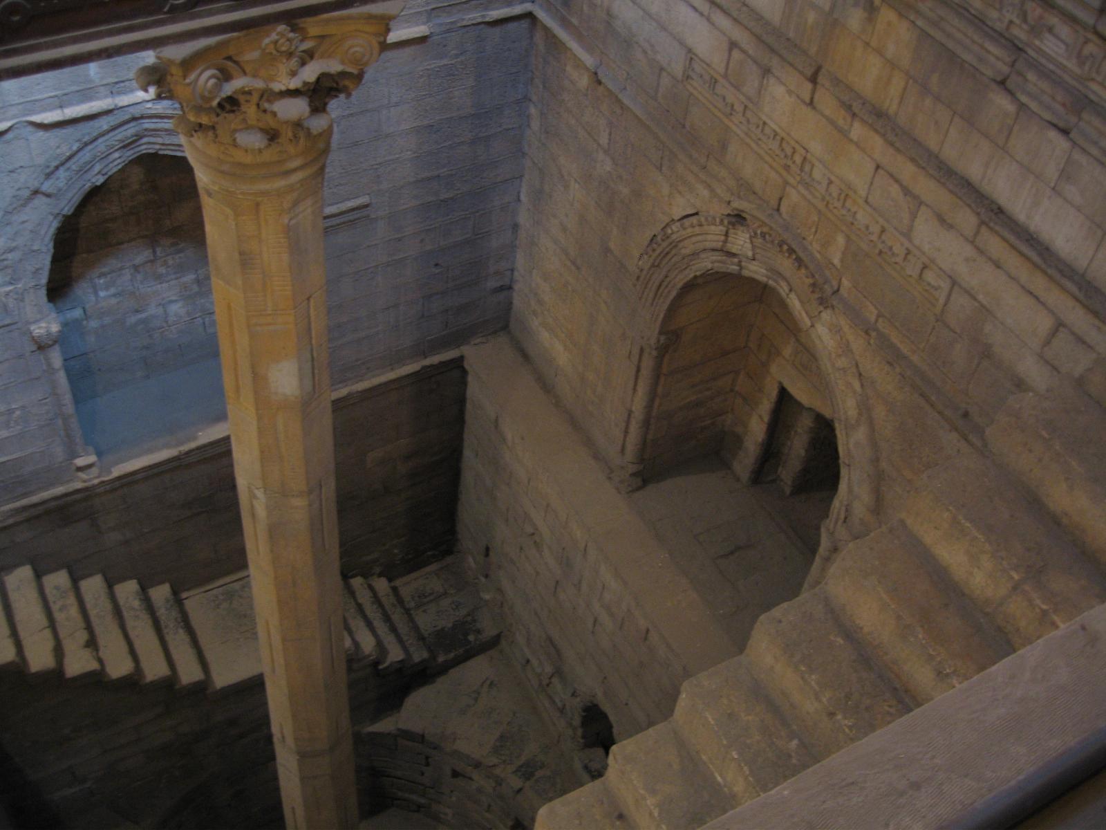 Nilómetro de Roda, el Cairo